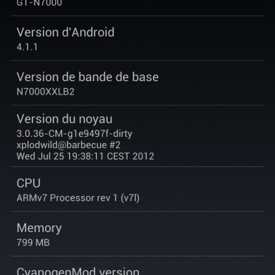 Official CyanogenMod 10 Preview for the Galaxy Note N7000