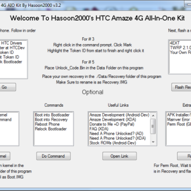 All-in-One Toolkit for the HTC Wildfire S