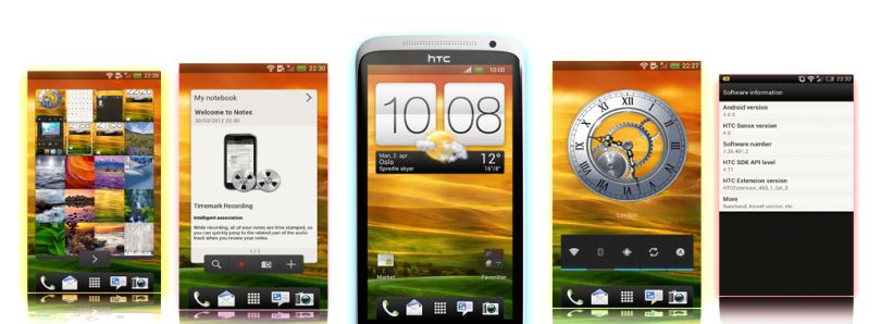 First Modified Sense 4.1 ROM for the HTC One X