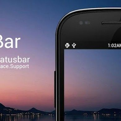 Omega Status Bar for Greater Features and Customization
