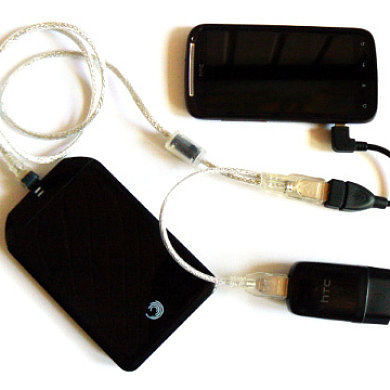 USB OTG for the HTC Sensation on ICS Sense ROMs