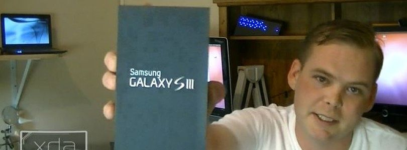 Verizon Samsung Galaxy S III Unboxed the XDA Way – XDA Developer TV