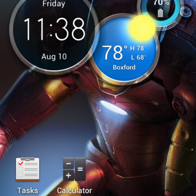 Atrix HD Launcher and Circle Widget Ported to Atrix 2