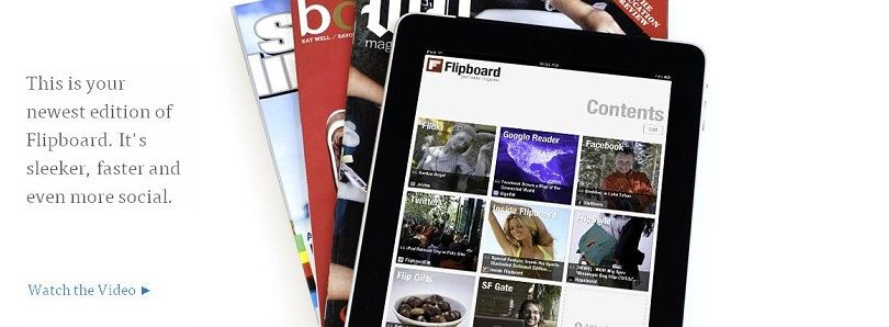 Flipboard Works on the ASUS Transformer TF700