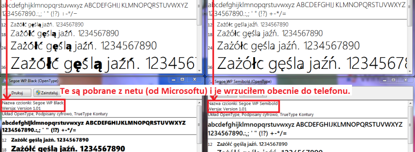 Wrong Fonts in Leaked Windows 7.8 ROMs Causing Bugs