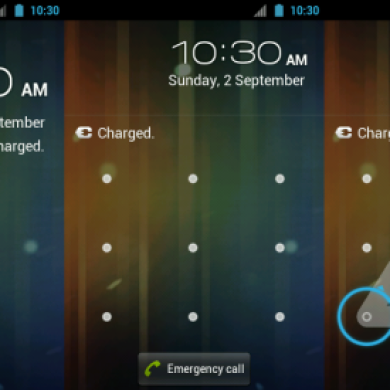 ICS-Style Pattern Lock for the HTC G1