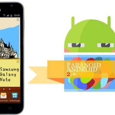 Jelly Bean Paranoid Android Now Available for Samsung Galaxy Note GT-N7000