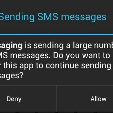 Disable the Jelly Bean SMS Warning on the Galaxy Nexus