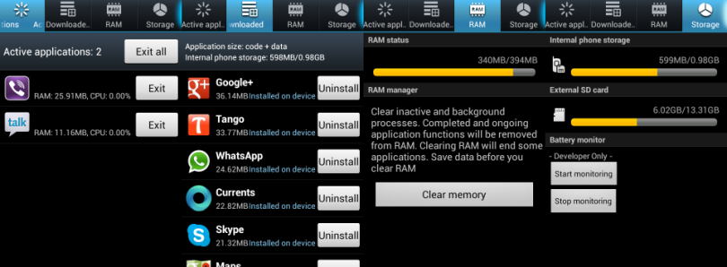 Install Fixed TouchWiz Task Manager on CyanogenMod 9/10