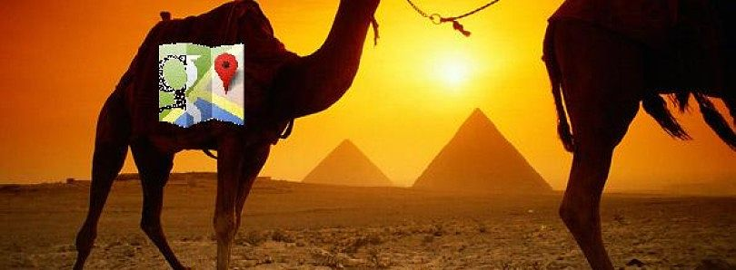 Walk Like an Egyptian… and Know Where You're Headed–Google Maps Now Serving Egypt