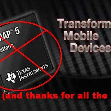 "Texas Instruments ""Shift of Focus"" (Read: ABANDON SHIP!)"