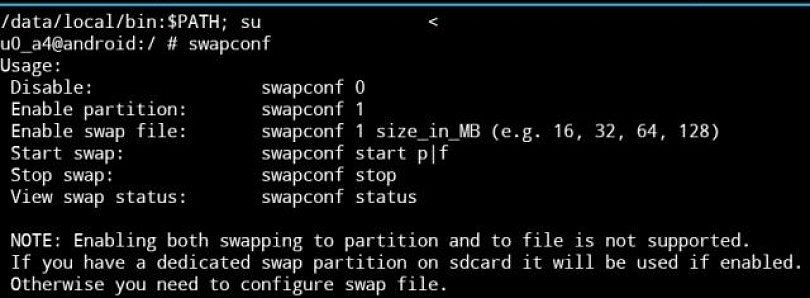 SwapConf Script Makes Virtual Memory Easy on OG Droid