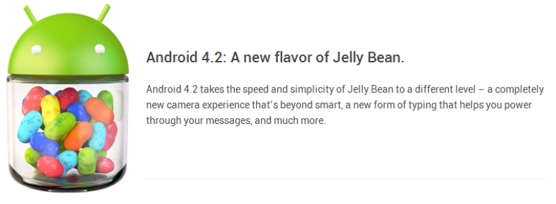 Android 4.2 Announced: Photo Sphere, Gesture Typing, Multi-User, TV Connect, Quick Settings, and Much More!