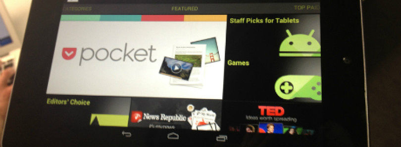 Nexus 7 Driver Binaries Updated, May Fix Many Issues