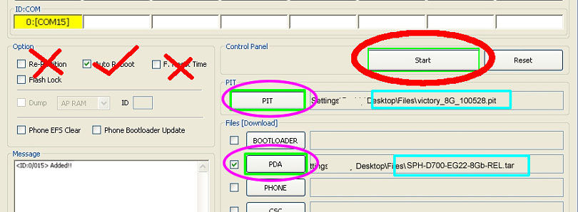 PIT Magic to Create, Analyze, and Edit Samsung PIT Files