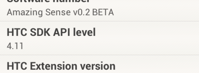 Sense 4.1 Ported to HTC One V