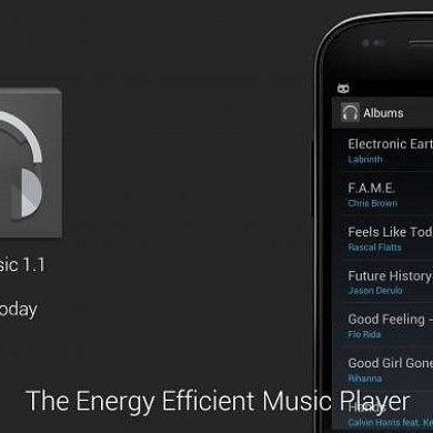 Save your Battery While Enjoying a Beat with HoloMusic