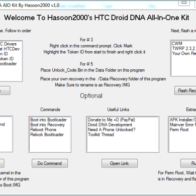 HTC Droid DNA Gets All-in-One Toolkit