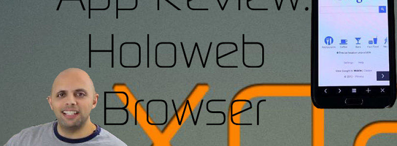 App Review: Stylish Web Browsing with Holoweb Browser – XDA Developer TV