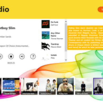 PRadio Gives Windows 8 Full Featured Pandora Radio