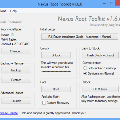 Toolkits Released for Nexus 10, Nexus 4, Nexus S, and Nexus S 4G