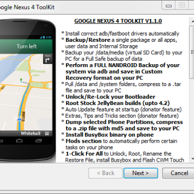 All-in-One Toolkit for the Google Nexus 4