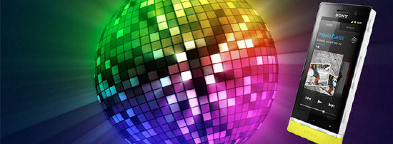 Party Mode On with U-Disco for the Sony Xperia U Illumination Bar