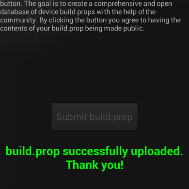 OpenBuildProp Project Helps Organize the World of Android
