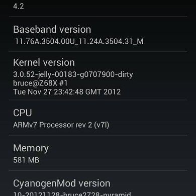 HTC Sensation Gets Unofficial Alpha CM10.1