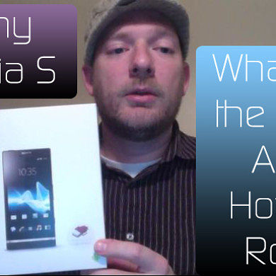 Sony Xperia S: How to Root and What's in the Box? – XDA Developer TV