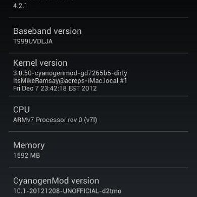 T-Mobile and AT&T Galaxy S III Get Unofficial CM10.1 Builds