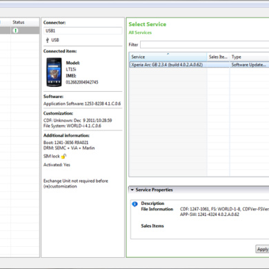 Sony Releases Beta Flash Tool for Unlocked Xperia Devices