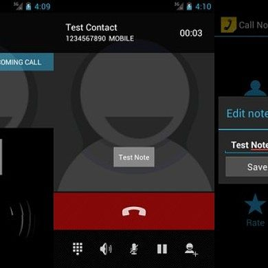 See Contacts Notes During Calls with Call Notes