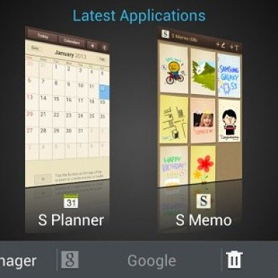 HTC Sense-Style Task Manager for the Galaxy S III I9300