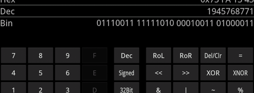 New Calculator Helps You Figure Out Hex, Decimal and Binary At a Moment's Notice