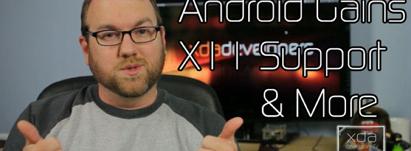 "Drawing on a Linux Desktop with an Android Tablet and a ""User Friendly"" XBMC for Android! – XDA Developer TV"