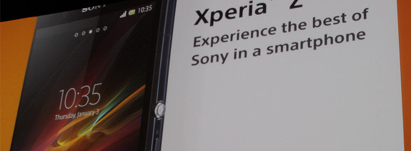 Sony Releases Xperia Z at CES 2013