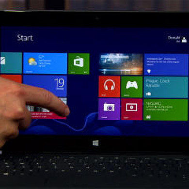 Increase Touch Screen Responsiveness on the Microsoft Surface
