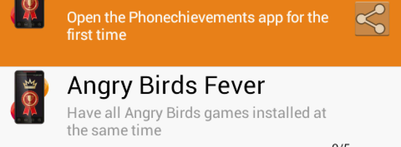 Phonechievements Keeps Track of Your Phone Achievements