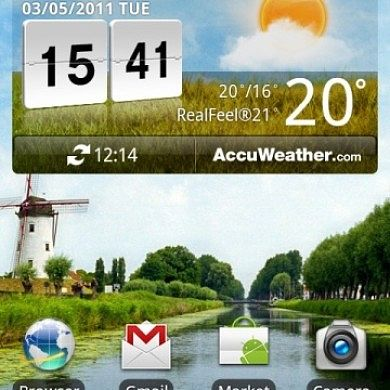 Guide for Porting the LG Weather/Clock Widget to any ROM