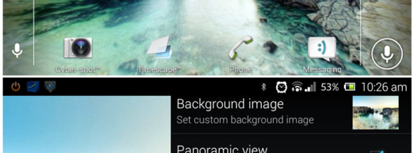 Generate Your Own Panoramic Live Wallpaper