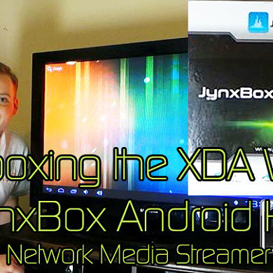 JynxBox HD Network Media Streamer Unboxing the XDA Way – XDA Developer TV