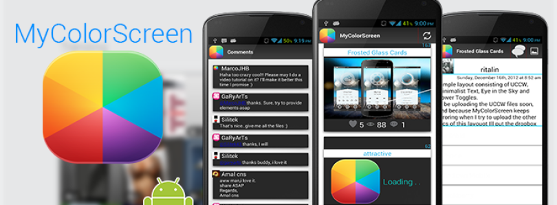 Get Some Home Screen Inspiration from MyColorScreen