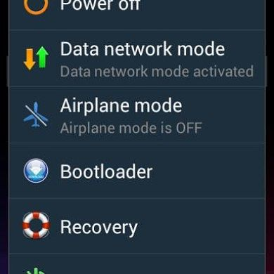 Learn How to Add Power Menu Items to Your Jelly Bean-Powered Epic 4G Touch