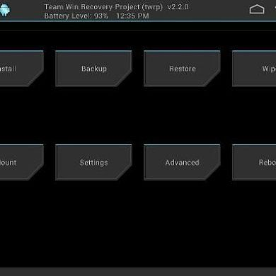 TWRP Recovery Updated to 2.4.3.0 with New Features, Improvements, and Bug Fixes