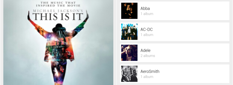 Now Playing Beta, a Google Now-Themed Music Player