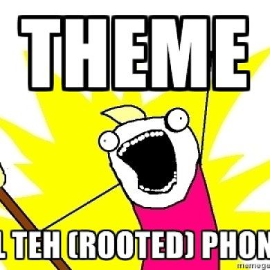 Theme ALL the (Rooted) Phones with XThemeEngine