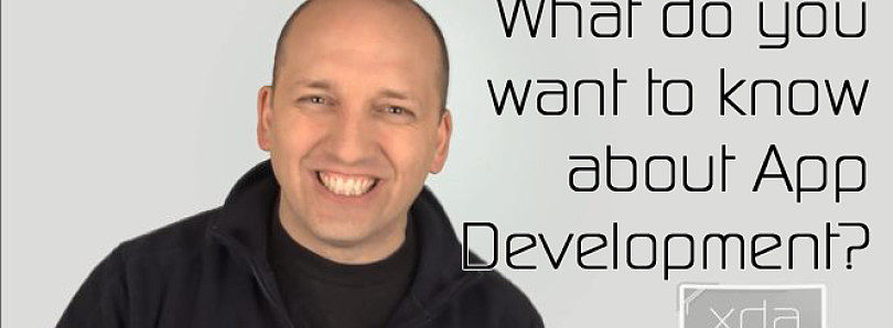 App Development: The Future of App Development Forums at XDA – XDA Developer TV