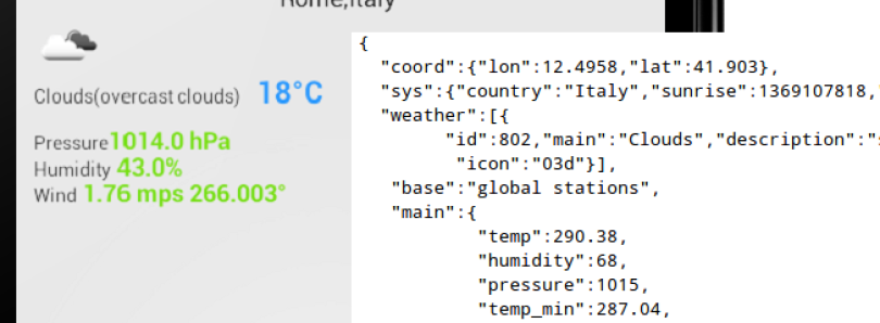 Weather App by Example Teaches JSON, HTTP, and API Use