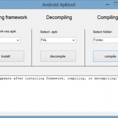 Compile/Decompile APKtool Scripts Made Available for Windows
